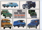 1965 Ford Trucks Full-Line brochure