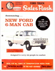 1965 Ford Sales Flash newsletter - Crewcab