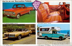 1969 Ford Truck advertising postcards