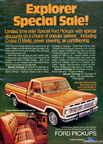 1973 Ford Truck magazine advertisements